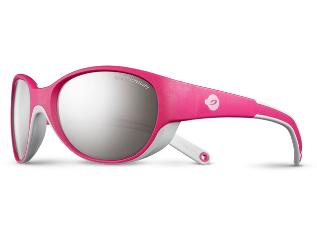 Julbo Lily Spectron 4 Sunglasses Kids 4-6Y Fuchsia/Light Gray-Gray Flash Silver